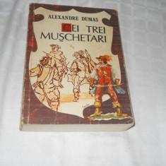 CEI TREI MUSCHETARI - AL. DUMAS,1988