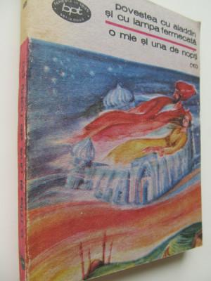 Povestea cu Aladdin si cu lampa fermecata - 1001 nopti (10) foto