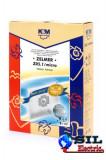Sac aspirator Zelmer 1010, sintetic, 4X saci + 1 filtru, K&M