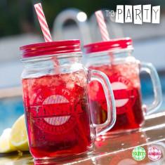 Borcanas cu Capac si Pai Cocktail Bar Th3 Party