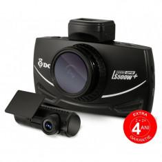 Camera auto dubla DVR DOD LS500W+, Full HD, GPS, senzor imagine Sony, lentile Sharp, WDR, G senzor, 3 inch LCD