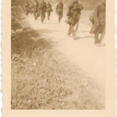 Fotografie prizonieri francezi 1940 campanie Franta al doilea razboi mondial