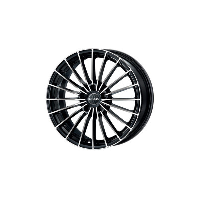 Jante RENAULT VELSATIS 7J x 17 Inch 5X108 et50 - Mak Volare+ Black Mirror - pret / buc foto