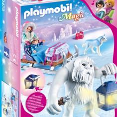 Playmobil Magic - Yeti, figurine si sanie