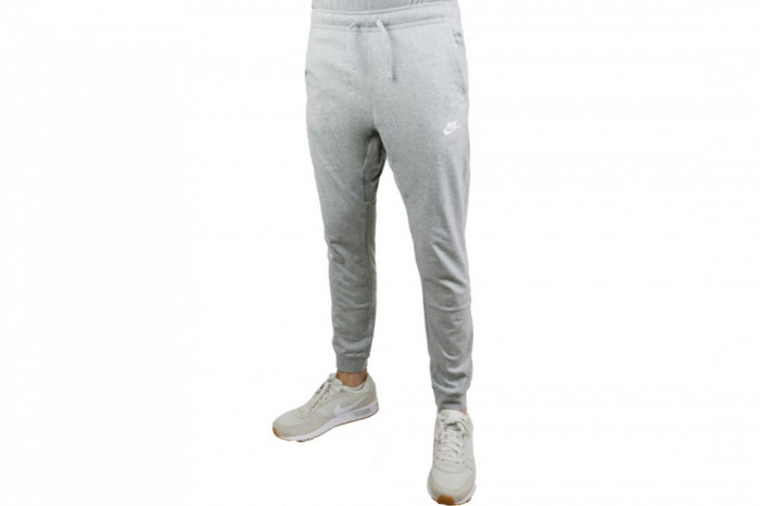 Pantaloni Nike NSW Pant CF JSY Club 804461-063 pentru Barbati