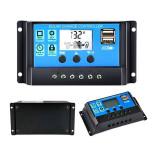 CONTROLER DE INCARCARE PANOU SOLAR 10A PWM CU LCD SI USB
