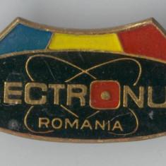 Insigna  1970 ELECTRONUM - Romania