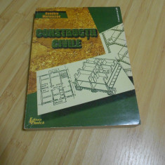 DUMITRU MARUSCIAC--CONSTRUCTII CIVILE - 1999