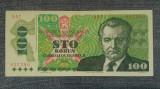 100 Korun 1989 Cehoslovacia aunc-/ seria 937580