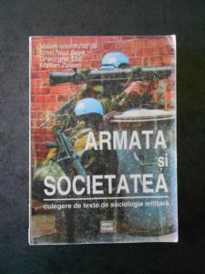IONEL NICU SAVA - ARMATA SI SOCIETATEA