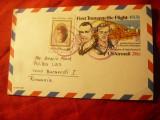 Carte Postala- Primul Zbor Transpacific 1931 - Posta Aeriana ,circulat 1981 SUA