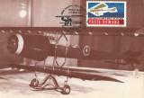 Romania, Primul avion cu reactie, carte postala ilustrata