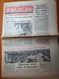 munca 18 decembrie 1986-articol si foto cu  orasul giurgiu