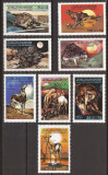 LIBIA 1979 FAUNA ( serie dantelata ) MNH, Nestampilat