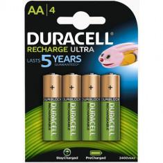 Set 4 Acumulatori AA 2500 mAh Recharge Ultra