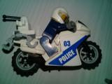 Jucarii/Machete,set 3 motociclete vintage,2 fara motociclist 1 cu motociclist