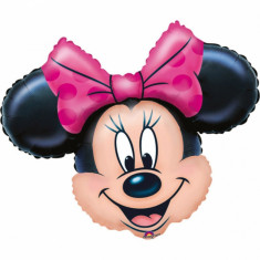 Balon folie mini figurina cap Minnie Mouse