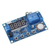 modul releu cu timer dc 6-60V micro usb 5v fisaj display led