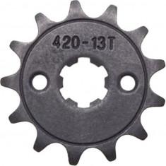 Pinion fata 420, 13 dinti, scuter si ATV