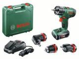 Masina de gaurit si insurubat Bosch AdvancedImpact 18 QuickSnap, 1 acumulator 1.5 Ah
