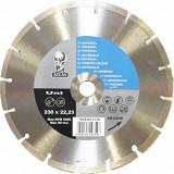 Disc debitat materiale constructie diamantat Atlas Universal 230x22.23mm