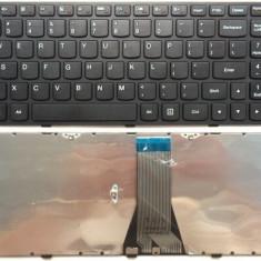 Tastatura laptop Lenovo Flex 2 15 Neagra US cu rama