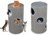 Ansamblu de joaca pentru pisici tip tub 70cm