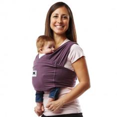 Sistem Purtare Baby Ktan Baby Carrier Original Cotton - Eggplant - Marimea XS