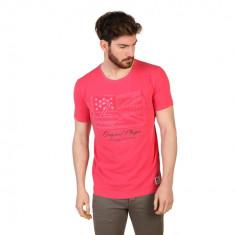 Tricou U.S. Polo ASSN Red, Slim Fit, culoare Rosu, marime XL EU