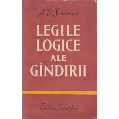 LEGIILE LOGICE ALE GANDIRII - A.V. SAVINOV