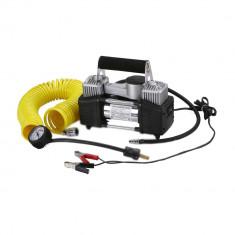Compresor de aer portabil profesional 2 cilindri