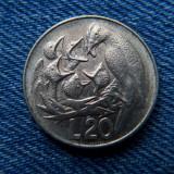 2q - 20 Lire 1975 San Marino, Europa