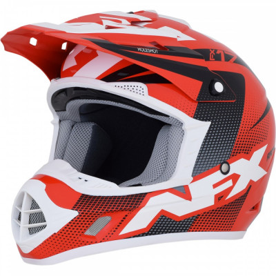 Casca Cross/ATV AFX FX-17 Holeshot culoare rosu negru alb marime XL Cod Produs: MX_NEW 01105301PE foto