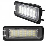 Set lampa LED numar compatibil MERCEDES,omologata, Oem