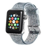 Curea silicon Apple Watch 38mm / 40mm, bratara ceas seria 1, 2, 3, bling bling