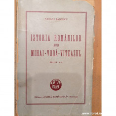 istoria romanilor sub mihai - voda - viteazul