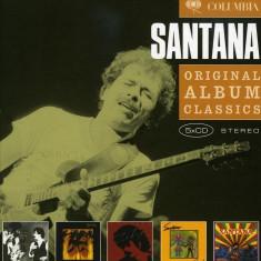 Santana Original Album Classics(InnerMarathonZebopShango) (5cd)