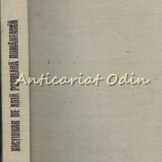 Dictionar De Arta Populara - Georgeta Stoica, Paul Petrescu, Maria Bocse