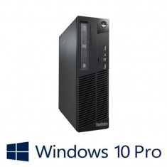 PC Refurbished Lenovo ThinkCentre M73 SFF, I5-4590, Win 10 Pro