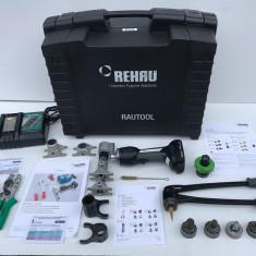 "Trusa Instalator REHAU RAUTOOL A-linght2 ,, Presa Hidraulica Sertizat """