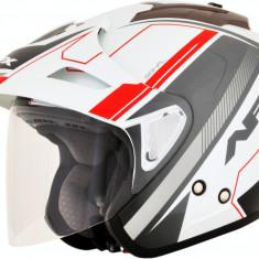 Casca Semiintegrala AFX FX-50 Signal culoare alb/gri/rosu marime XS Cod Produs: MX_NEW 01042030PE
