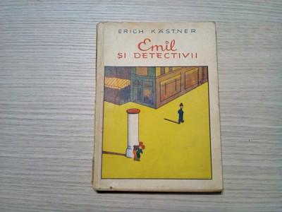 EMIL SI DETECTIVII - Erich Kastner - Walter Trier (ilustratii) - 1962, 139 p. foto
