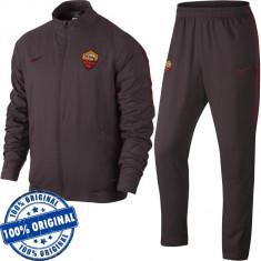 Trening Nike AS Roma pentru barbati - trening original - treninguri barbati, M, S, XL, Visiniu, Poliester