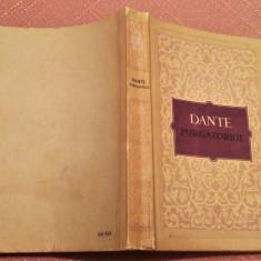 Purgatoriul (Divina Comedie). In romaneste de George Cosbuc - Dante