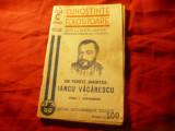 P.Papadopol- Iancu Vacarescu - Ed.1940 Cunostinte Folositoare nr.102 , 32 pag
