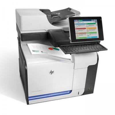 Imprimanta Multifunctionala HP LaserJet Enterprise color flow MFP M575c, 30 pagini/minut, 80.000 pagini/luna, 1200 x 1200 DPI, USB, Network, Fax, foto