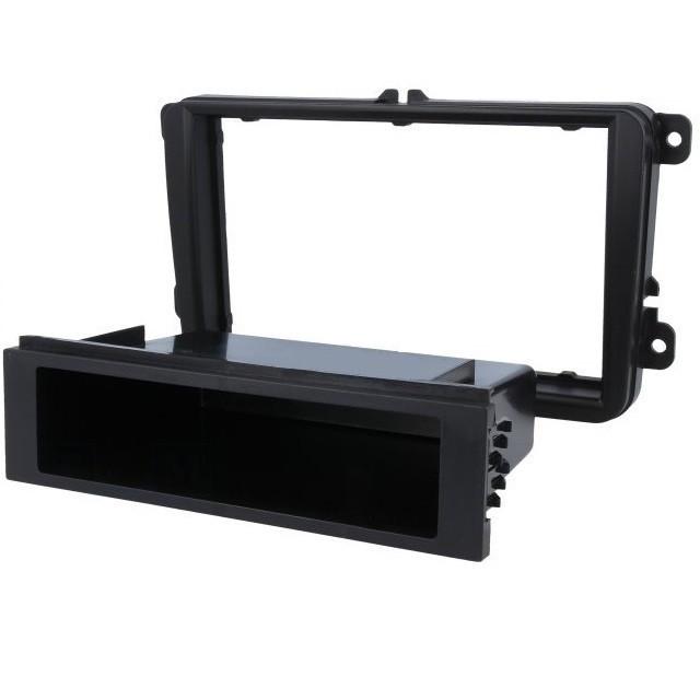 Cadru Radio, Rama adaptoare radio pentru Seat / Scoda / Volkswagen, negru