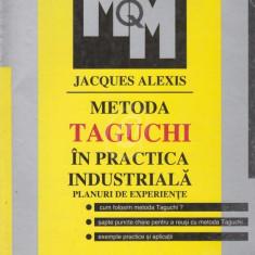 Metoda Taguchi in practica industriala - Planuri de experiente