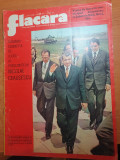 Flacara 1 iunie 1974-vizita lui ceausescu in constanta,gorj,dolj si olt,art.arad