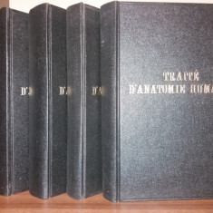 L. TESTUT  - A. LATARJET - TRAITE D'ANATOMIE HUMAINE - 5 VOLUME {1948-1949}